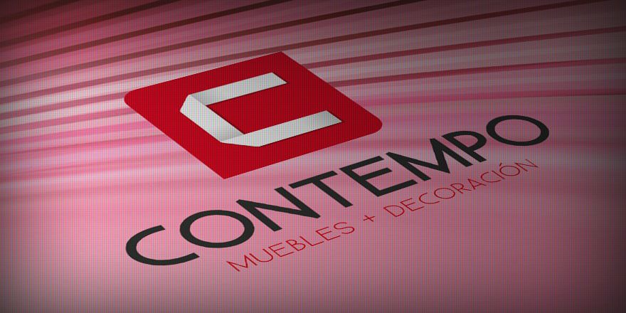 Diseño de logotipo CONTEMPO, mueblerías