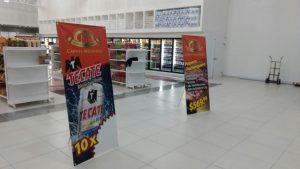 banners en tienda