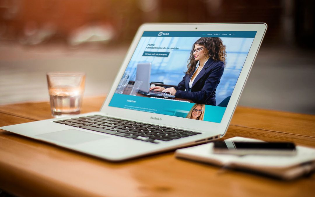 Diseño de página web para administración de inmuebles