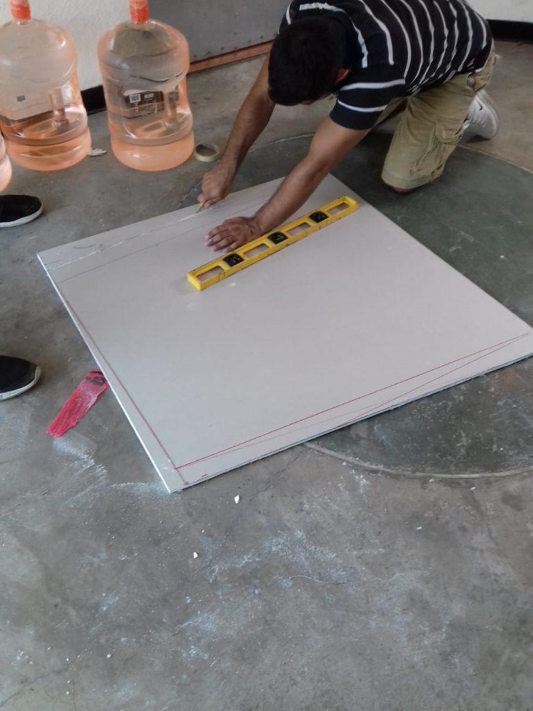Letrero con Logo Realzado 3D para pared Total Tech 12