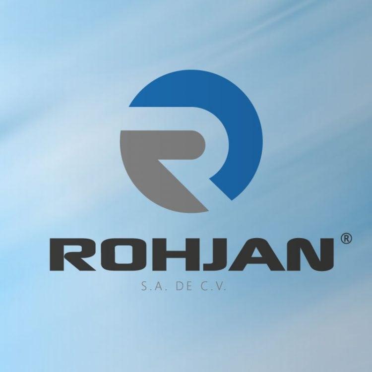 Logotipo de comercializadora Rohjan