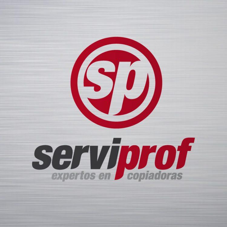 Logotipo serviprof equipos de copiado