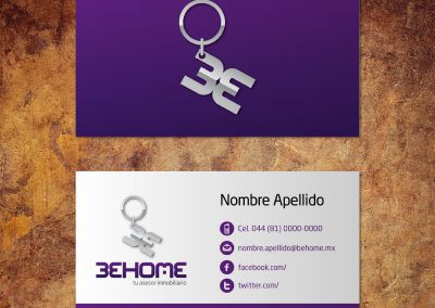 tarjetas de presentacion_behome