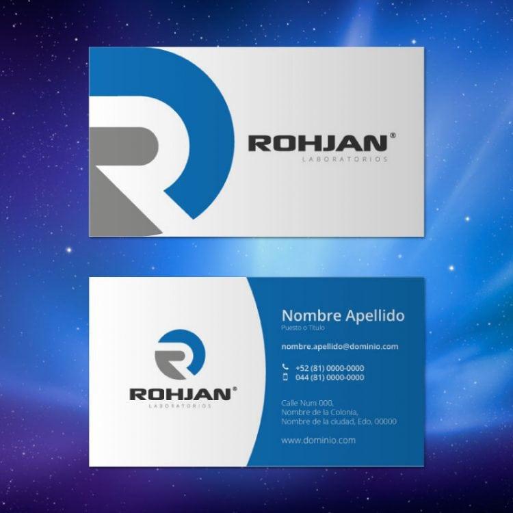 Tarjeta de presentación Rohjan