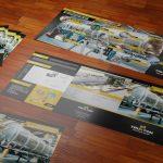 Diseño de brochure tipo tríptico