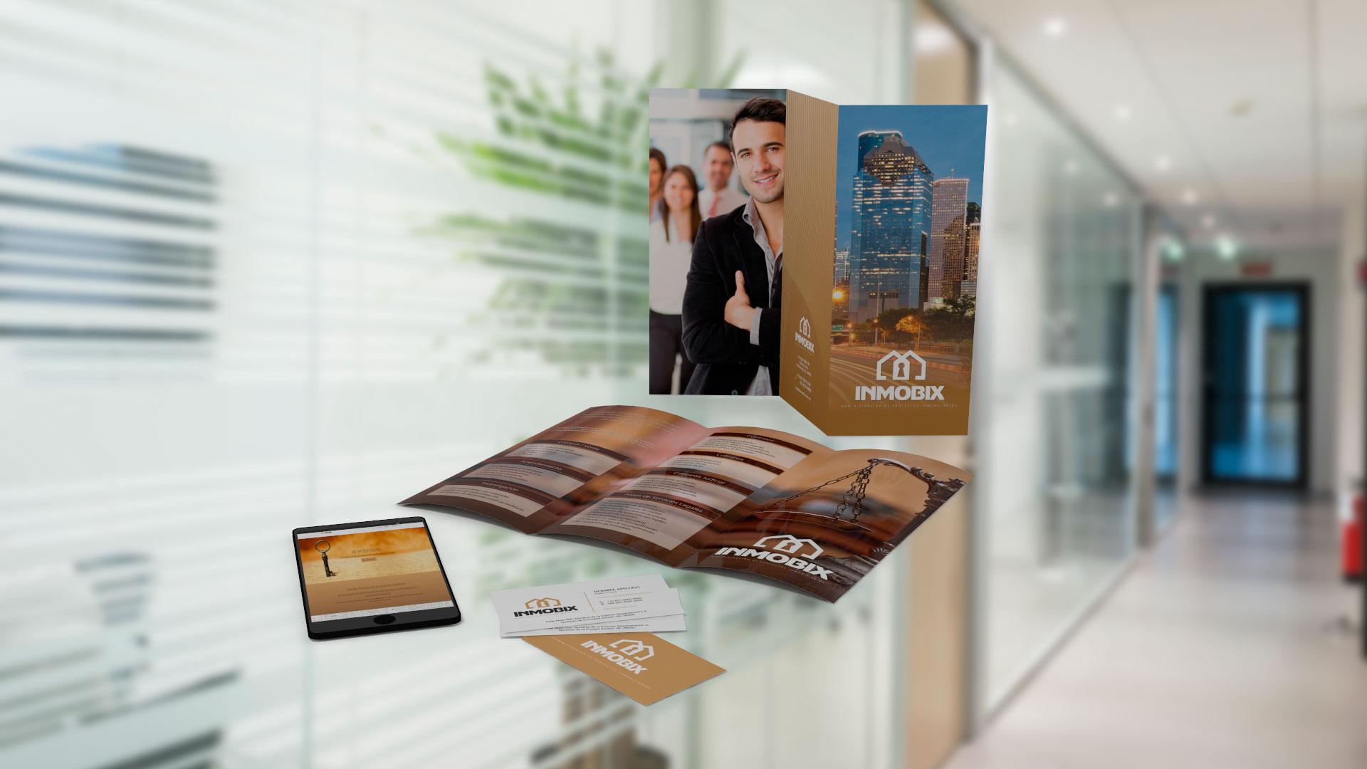 Diseño de identidad para servicios legales inmobiliarios