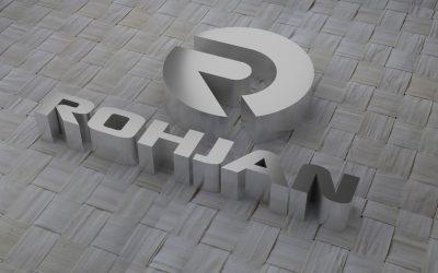 Diseño de logotipo para comercializadora Rohjan