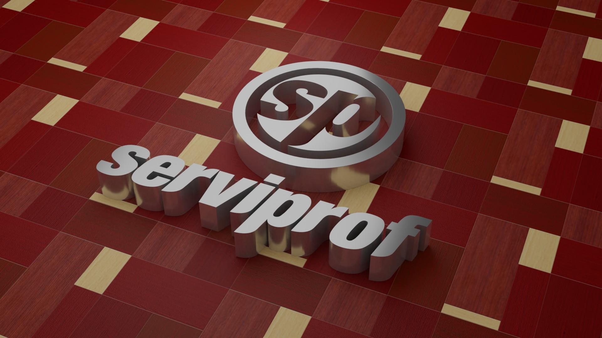 Diseño de logotipo para venta y renta de equipo de copiado Serviprof