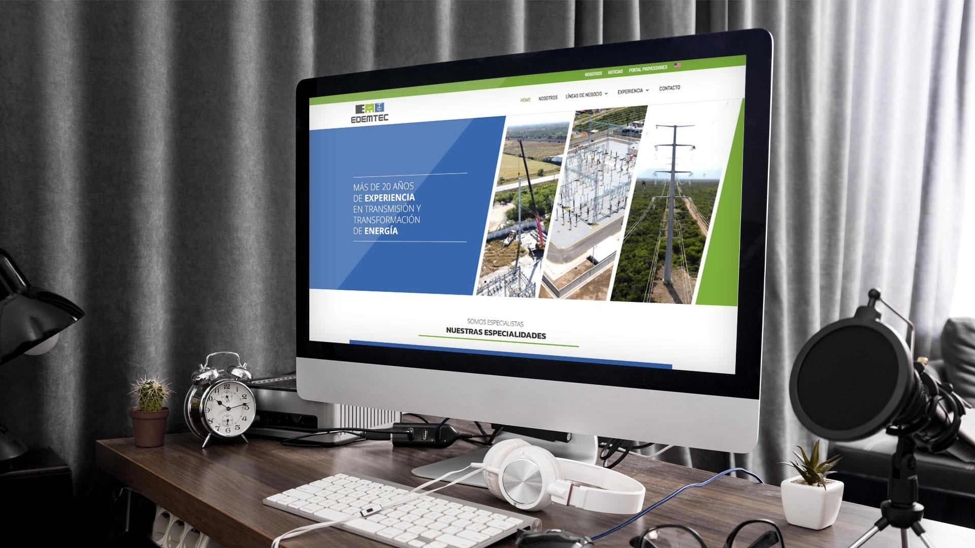 Diseño de página web para instalaciones eléctricas