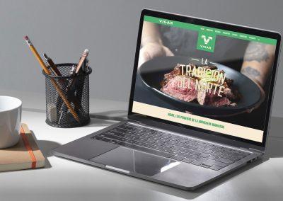 Diseño de página web para empacadora de carnes