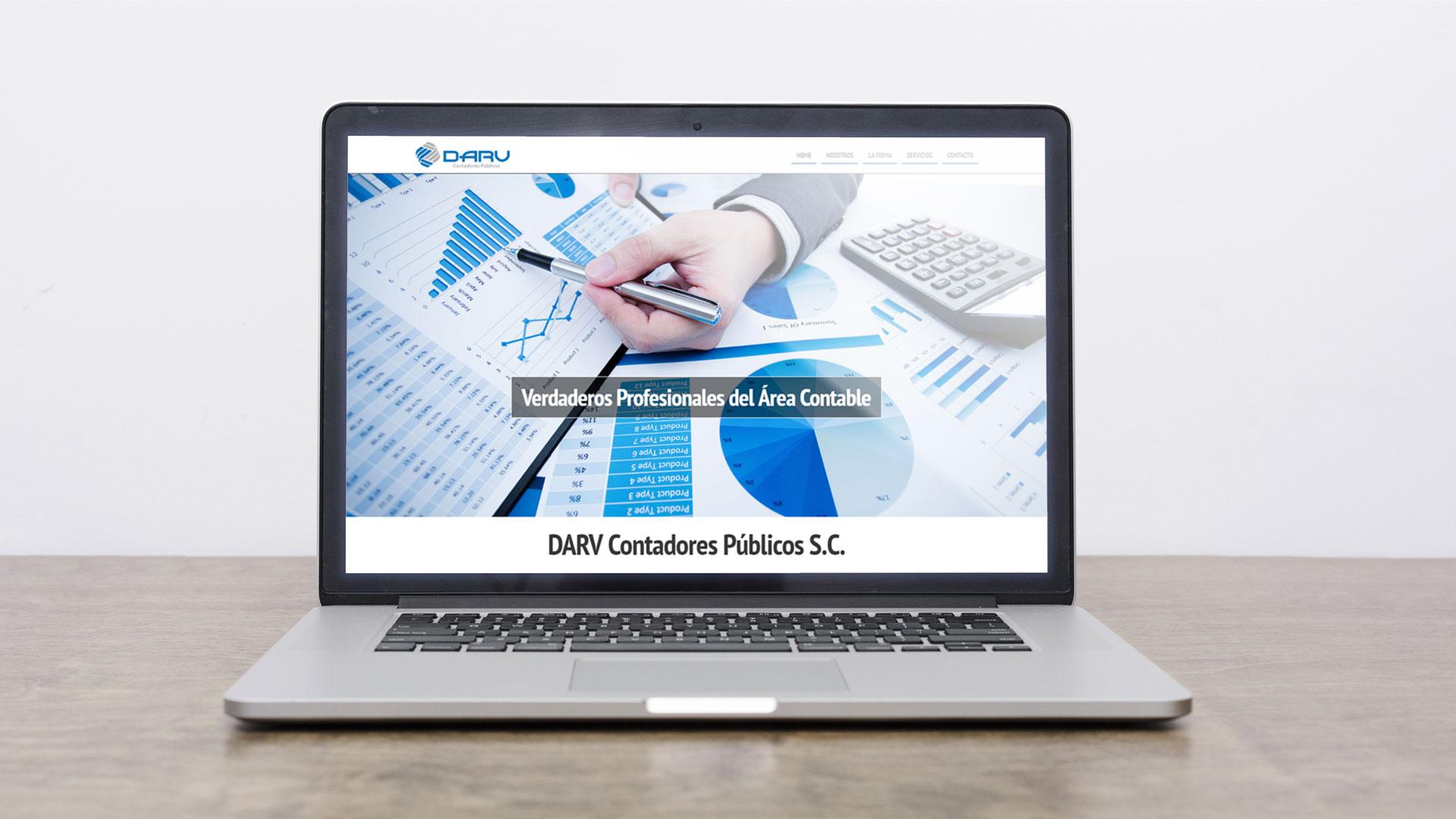 Página web para despacho de contadores DARV