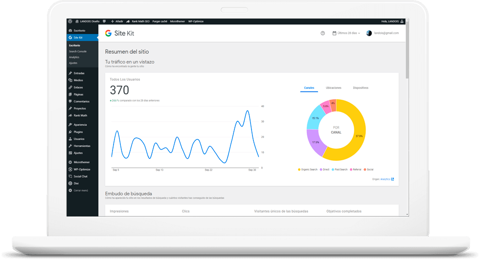 Metrics, Incrementar visitas a tu página web 5